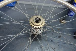Single speed tandwiel