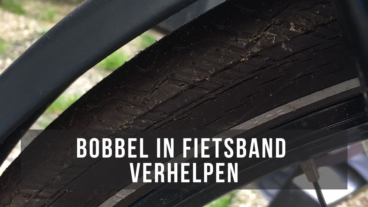 Bobbel in band fiets